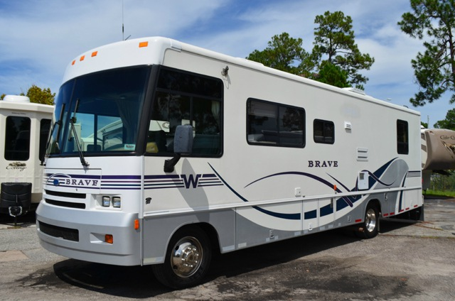 Used 1998 Winnebago Brave 32t Motor Home Class A At Dick