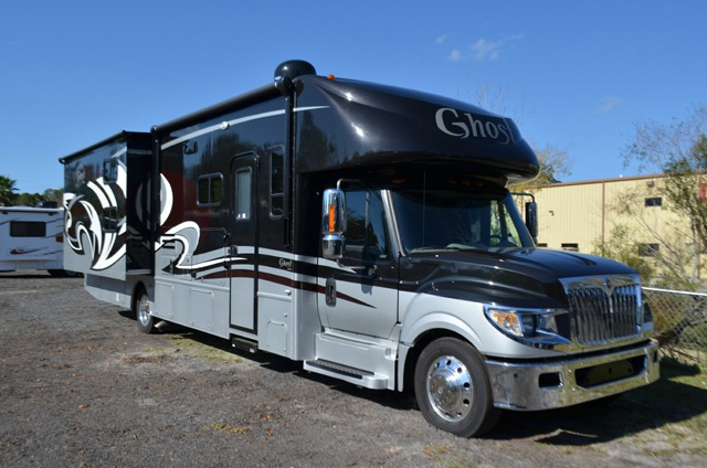 Used 2015 nexus rv ghost 36g motor home class c diesel for Used motor homes class c