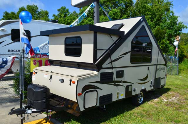Campers For Sale In Ga >> New 2017 Rockwood Rockwood Hard Side High Wall Series A214HW Folding Pop-Up Camper at Dick Gore ...