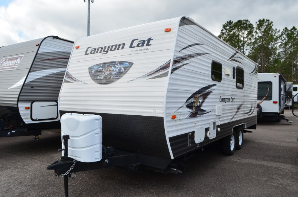 Used Rv For Sale In Ga >> Used 2015 Palomino Canyon Cat 21TUC Toy Hauler Travel Trailer at Dick Gore's RV World ...