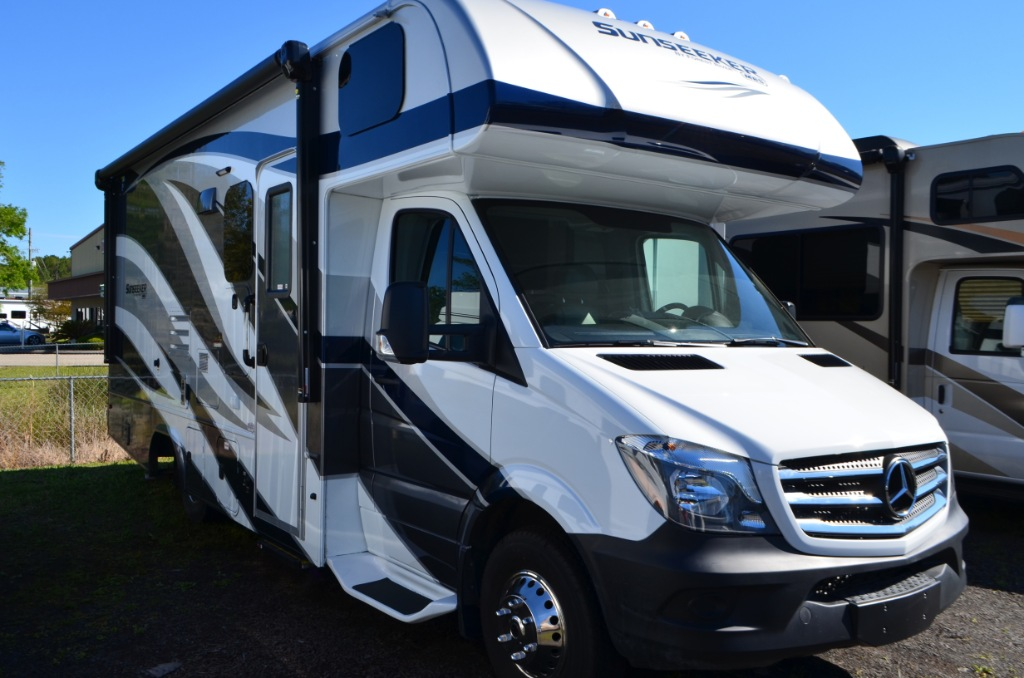 New 2018 forest river rv sunseeker 2400w motor home class for Mercedes benz motorhomes for sale
