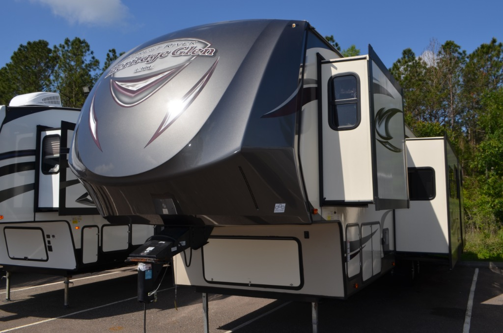 Heritage Glen Rv >> Used 2016 Forest River RV Wildwood Heritage Glen 356QB Fifth Wheel at Dick Gore's RV World ...
