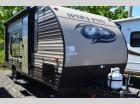 Used 2017 Forest River Wold Pup 16FQ Travel Trailer RV For Sale (1)