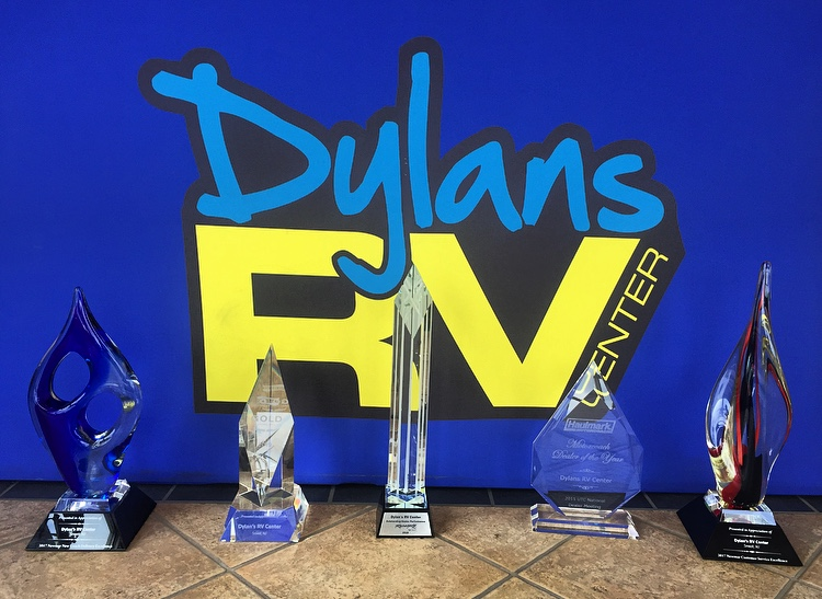 Dylan's RV Trophies