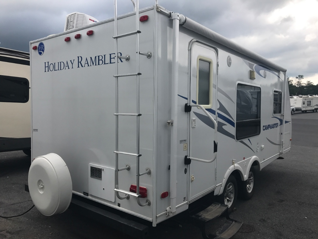 Used 2010 Holiday Rambler Campmaster 21RB Travel Trailer at
