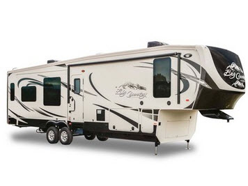 heartland big country, big country fifth wheels