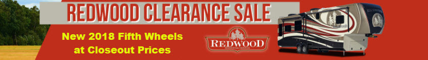Redwood Clearance Sale