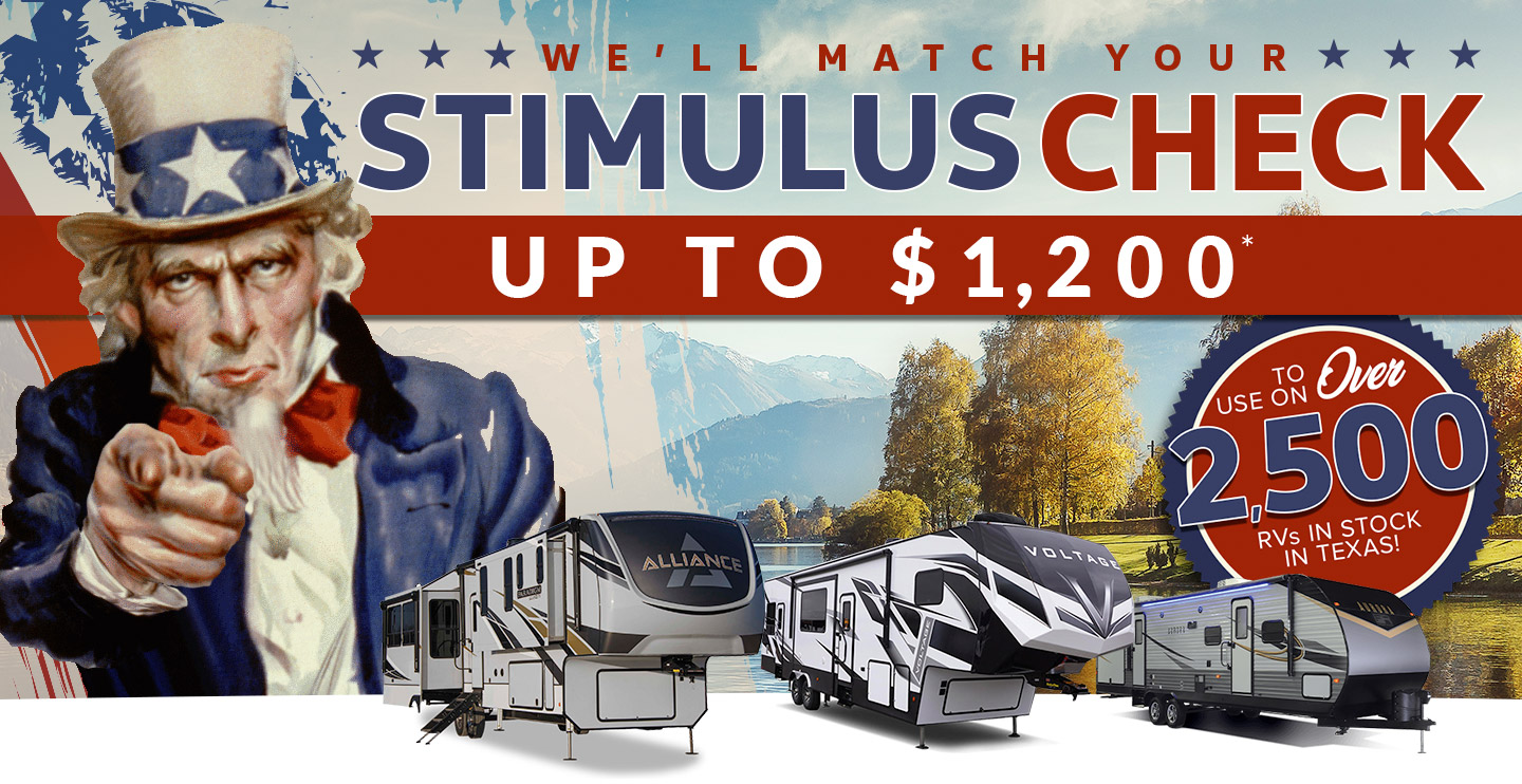 We'll Match Your Stimulus Check