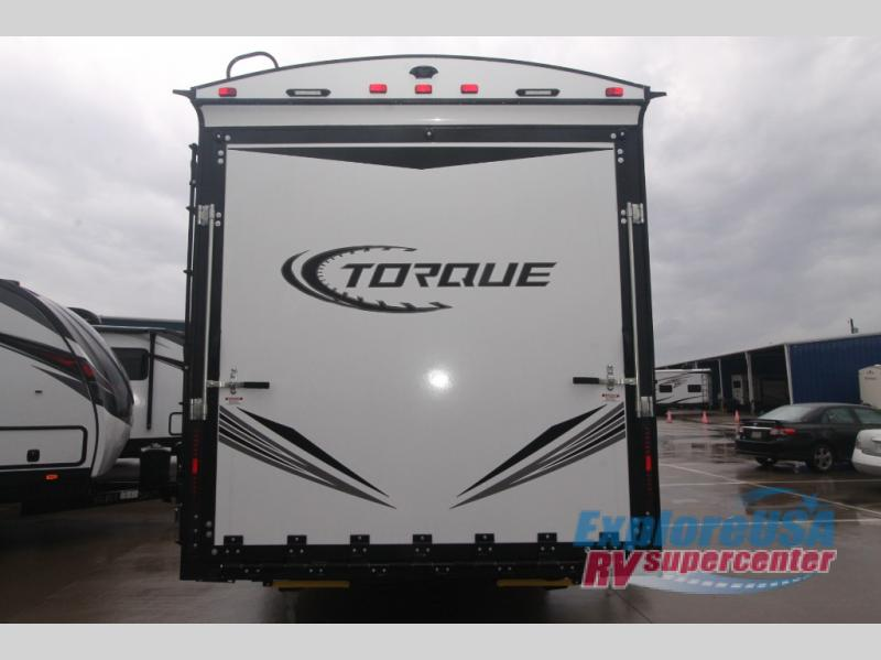 New 2018 Heartland Torque Tq T285 Toy Hauler Travel