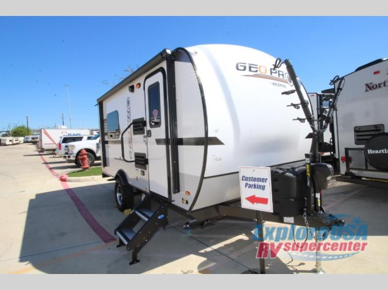New 2019 Forest River RV Rockwood Geo Pro 16TH Toy Hauler