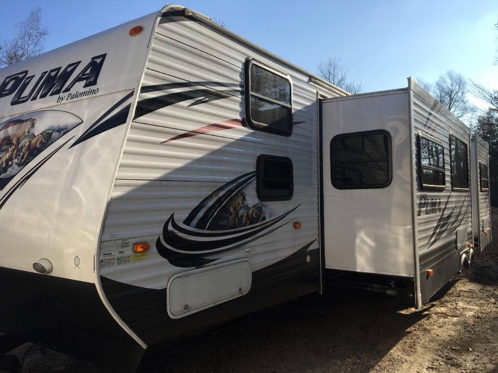 Used 2015 Palomino Puma 30FBSS Travel Trailer at Flagg RV | Uxbridge