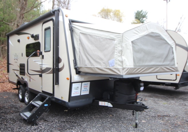Folding Pop-Up Campers For Sale in Massachusetts
