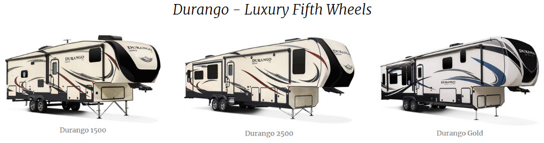 KZ RV Durango Fifth Wheels