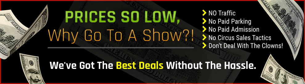 Folsom Lake RV is the home of the No Hassle RV Sale