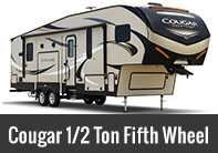 Cougar Half-Ton Series Fifth Wheel