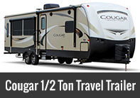 Cougar Half-Ton Series Travel Trailer