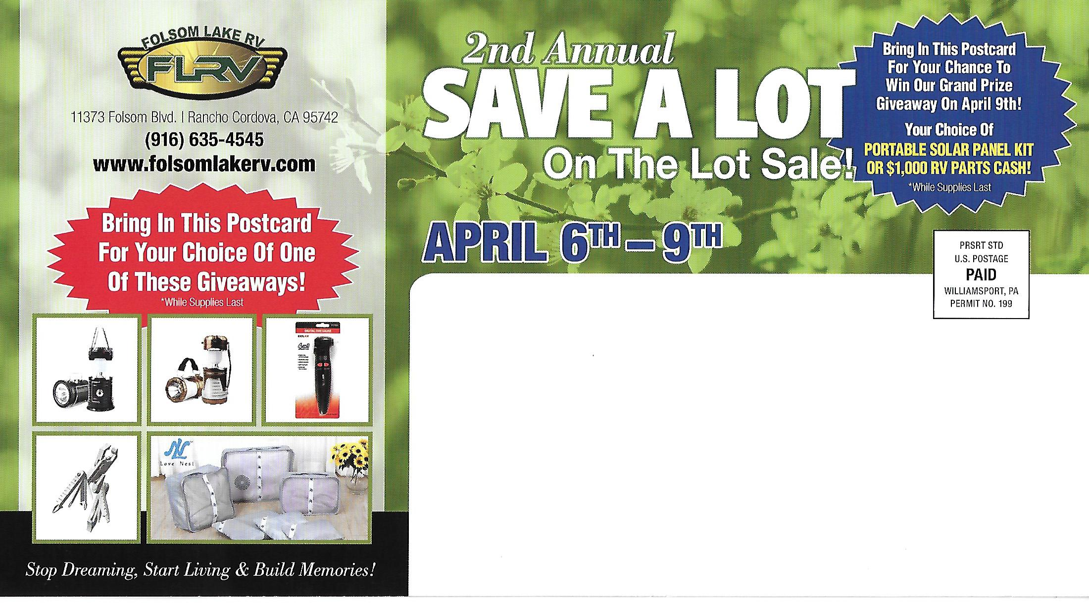 2nd Annual Save A Lot back