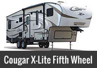 Cougar X-Lite Fifth Wheel