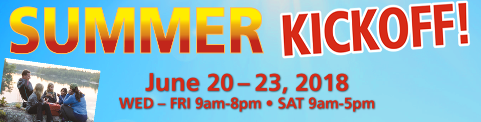 Summer Kickoff RV Sale