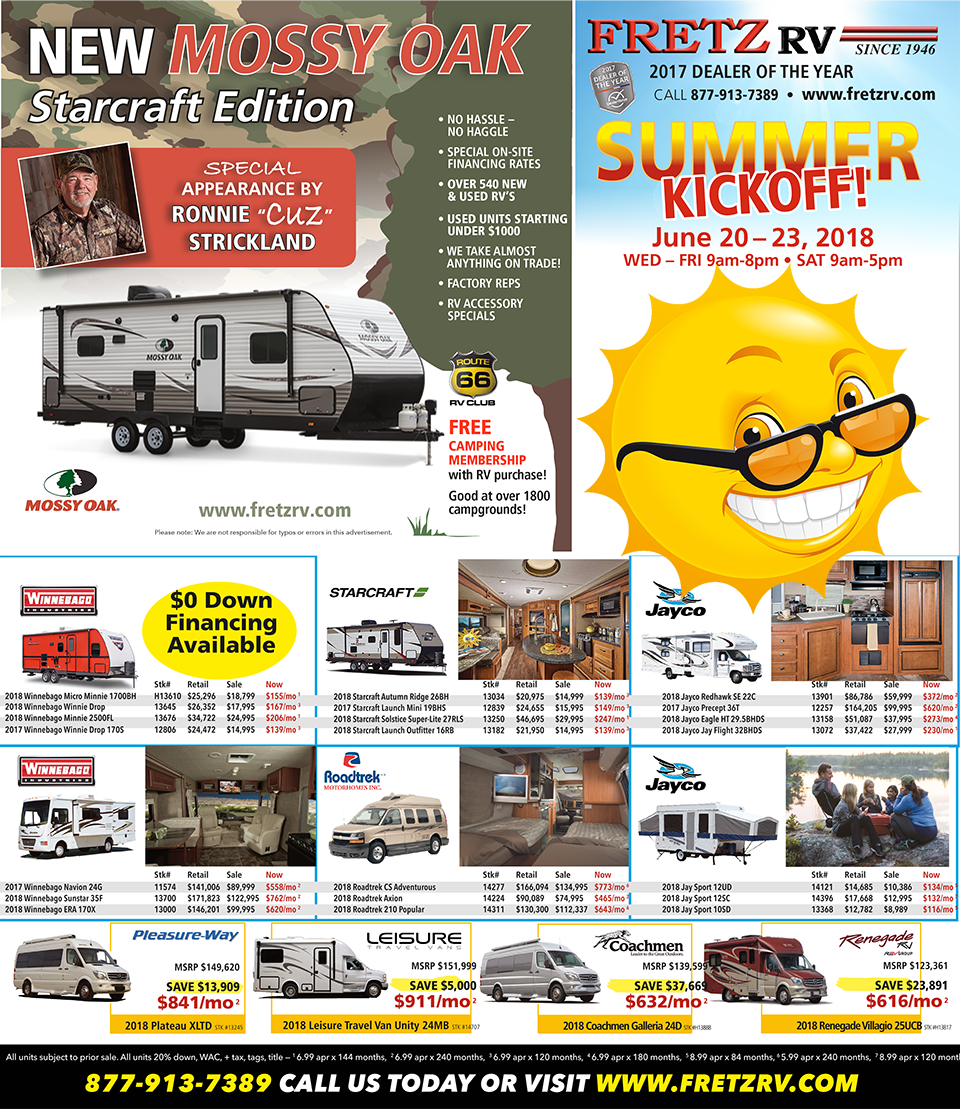 Summer Kickoff Sale
