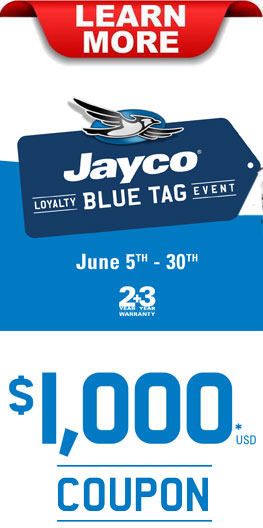 Jayco Blue Tag Sales Event