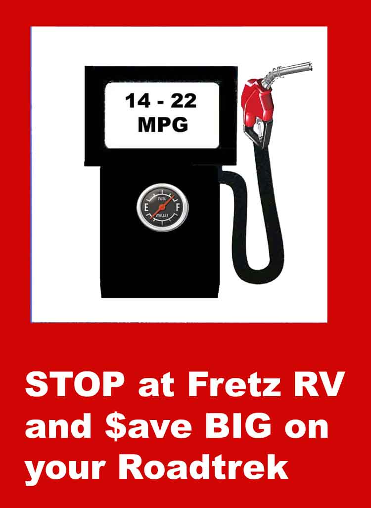 Fretz RV Gas Pump