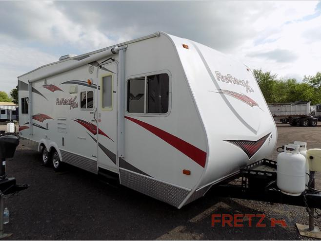 Used 2010 Cruiser Fun Finder XTRA XT-275 Toy Hauler Travel