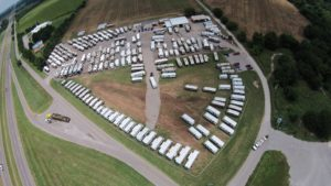 Funtown RV Aerial View