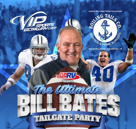 The Ultimate Bill Bates Tailgate Party