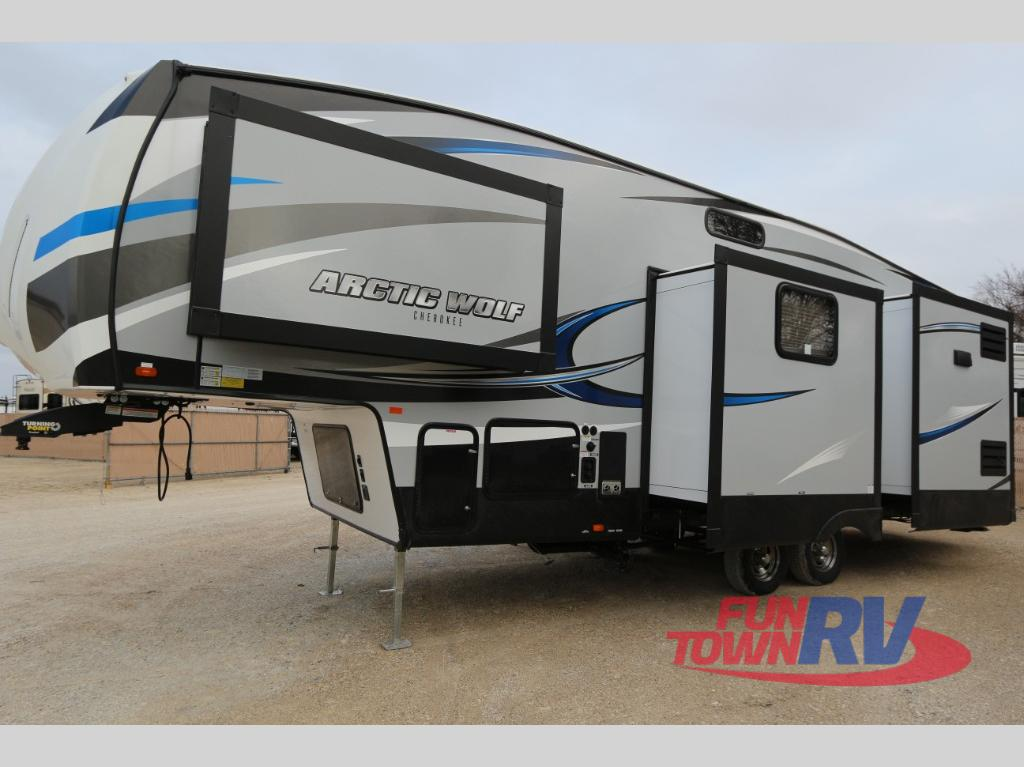 Pre Owned Rvs For Sale Dallas Fort Worth >> New 2018 Forest River RV Cherokee Arctic Wolf 295QSL8 Fifth Wheel at Fun Town RV   Cleburne, TX ...