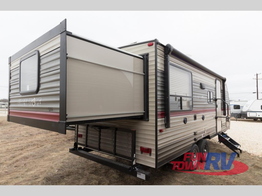 Pre Owned Rvs For Sale Dallas Fort Worth >> New 2018 Forest River RV Cherokee Grey Wolf 19SM Travel Trailer at Fun Town RV   Cleburne, TX ...