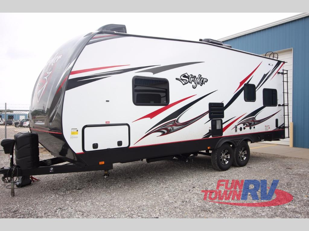New 2018 Cruiser Stryker St 2313 Toy Hauler Travel Trailer At Fun Town Rv Cleburne Tx 141314