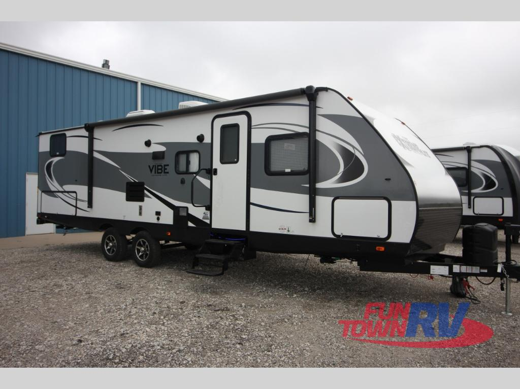 New 2018 Forest River Rv Vibe Extreme Lite 287qbs Travel