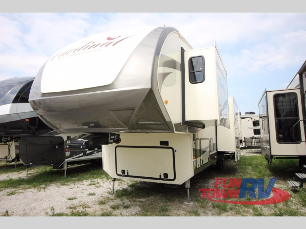 New 2018 Forest River Rv Cardinal 3950tz Fifth Wheel At