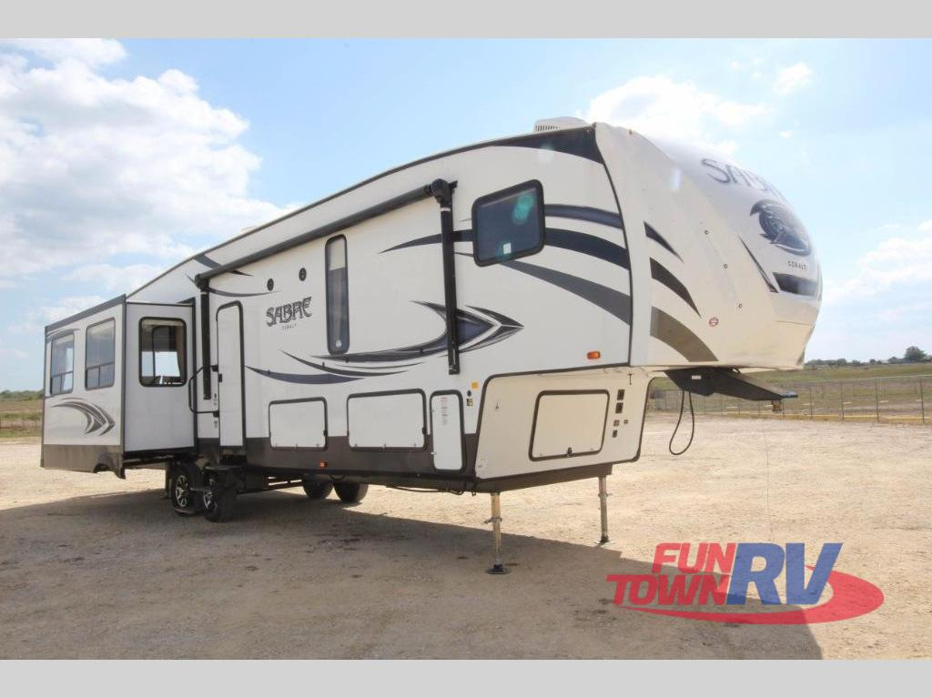 New 2019 Forest River Rv Sabre 36bhq Fifth Wheel At Fun