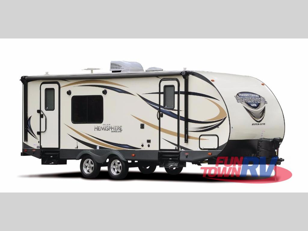 Toy Haulers For Sale In East Texas >> New 2018 Forest River RV Salem Hemisphere Hyper-Lyte 26RLHL Travel Trailer at Fun Town RV ...