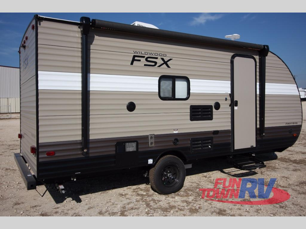Forest River Wildwood X Lite >> New 2018 Forest River RV Wildwood FSX 197BH Travel Trailer ...