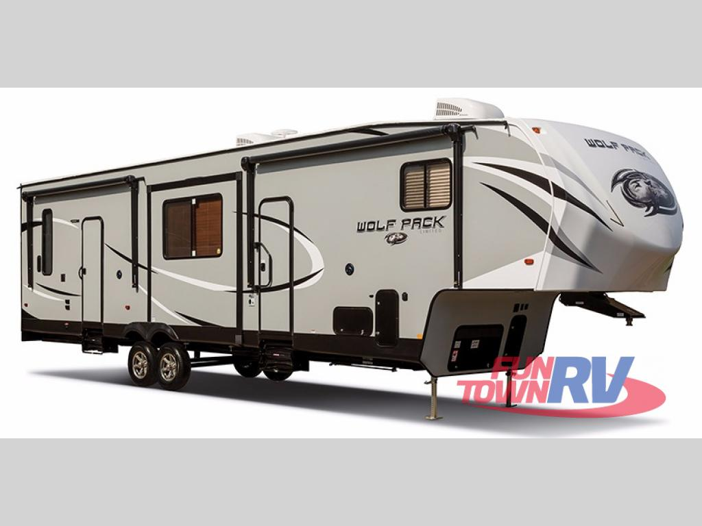 Toy Haulers For Sale In East Texas >> New 2018 Forest River RV Cherokee Wolf Pack 275PACK18 Toy Hauler Fifth Wheel at Fun Town RV ...
