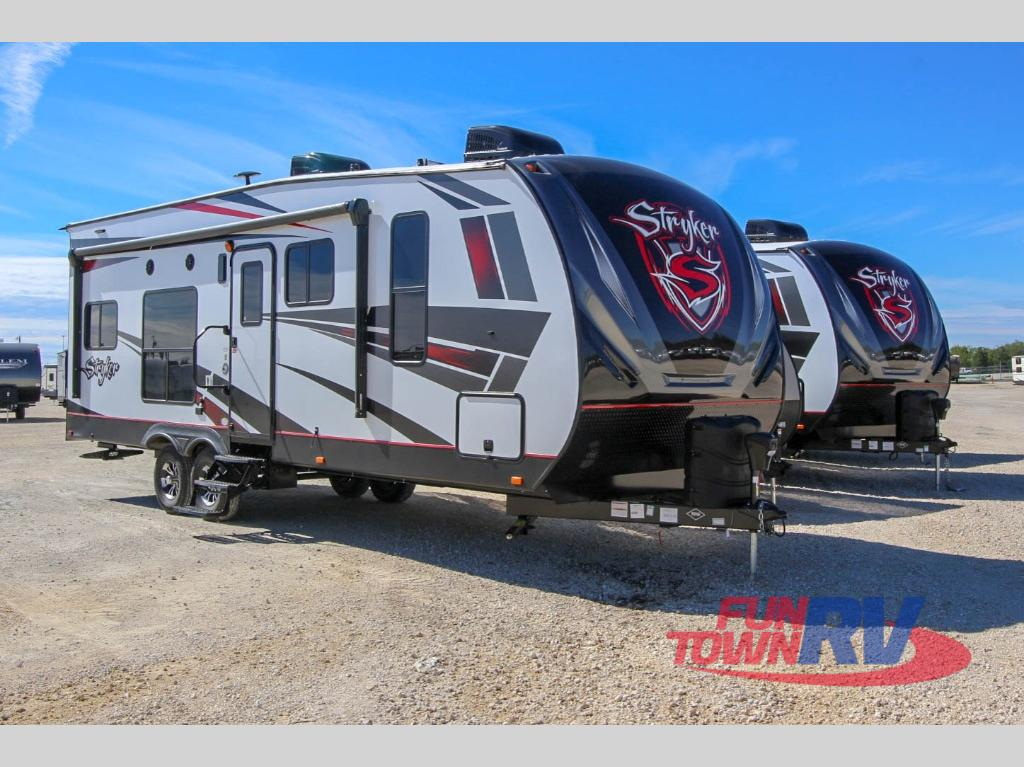 New 2019 Cruiser Stryker St 2613 Toy Hauler Travel Trailer