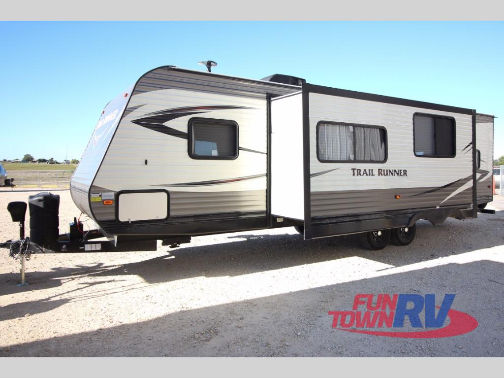 New 2018 Heartland Trail Runner 30usbh Travel Trailer At