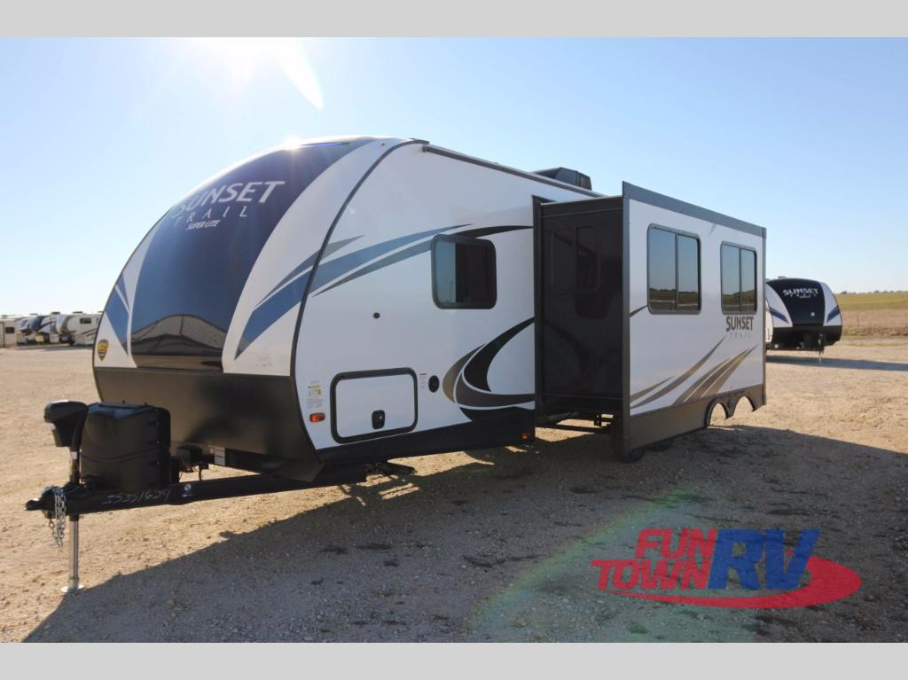 Toy Haulers For Sale In East Texas >> New 2018 CrossRoads RV Sunset Trail Super Lite SS262BH Travel Trailer at Fun Town RV | Cleburne ...
