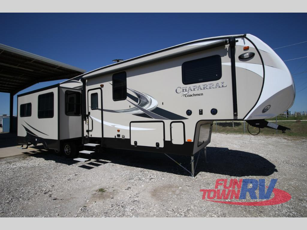 New 2018 Coachmen Rv Chaparral 371mbrb Fifth Wheel At Fun