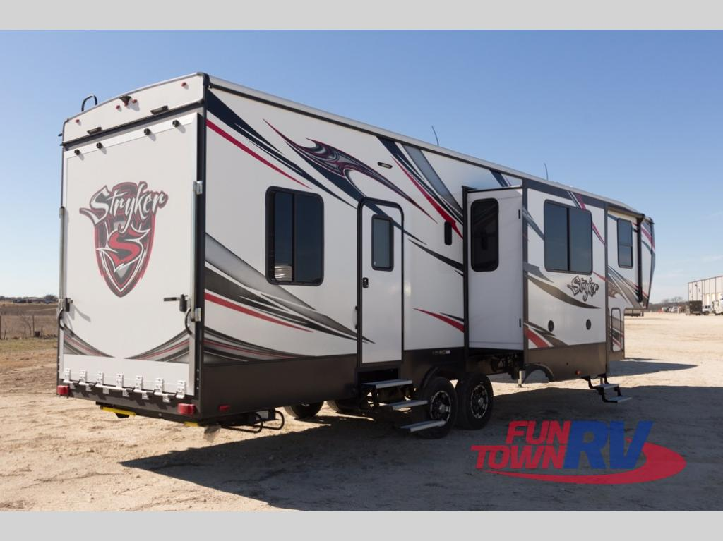 Cruiser Rv For Sale Houston Tx >> New 2018 Cruiser Stryker 3513 Toy Hauler Fifth Wheel at Fun Town RV | Hewitt, TX | #146386