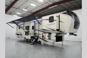 New 2021 Forest River RV RiverStone Reserve Series 3950FWK Photo