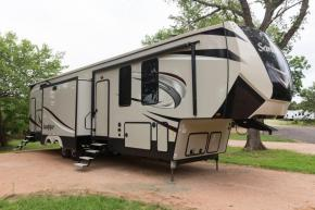 New 2019 Forest River RV Sandpiper 383RBLOK Photo