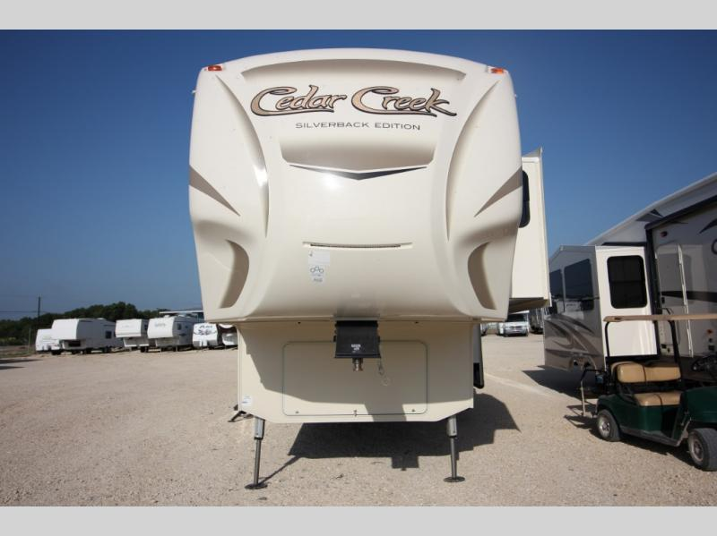 New 2018 Forest River Rv Cedar Creek Silverback 37mbh