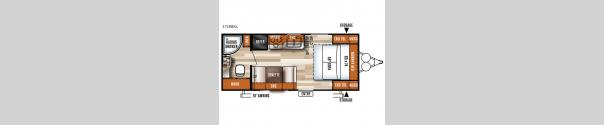Salem Cruise Lite 171RBXL Floorplan