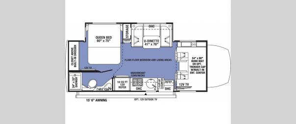 Sunseeker MBS 2400B Floorplan