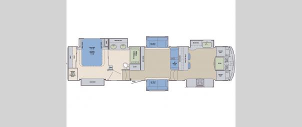 Columbus Compass 388FKC Floorplan