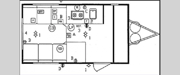 Nomad 160B Floorplan